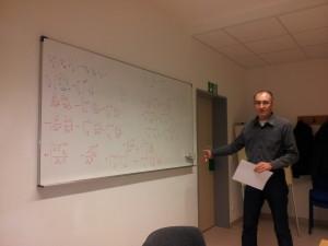 Der Kommutator von 2 kovarianten Ableitungen ergibt den Riemannschen Krümmungstensor!