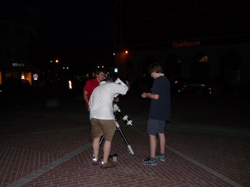 Aufbau der Telskope
