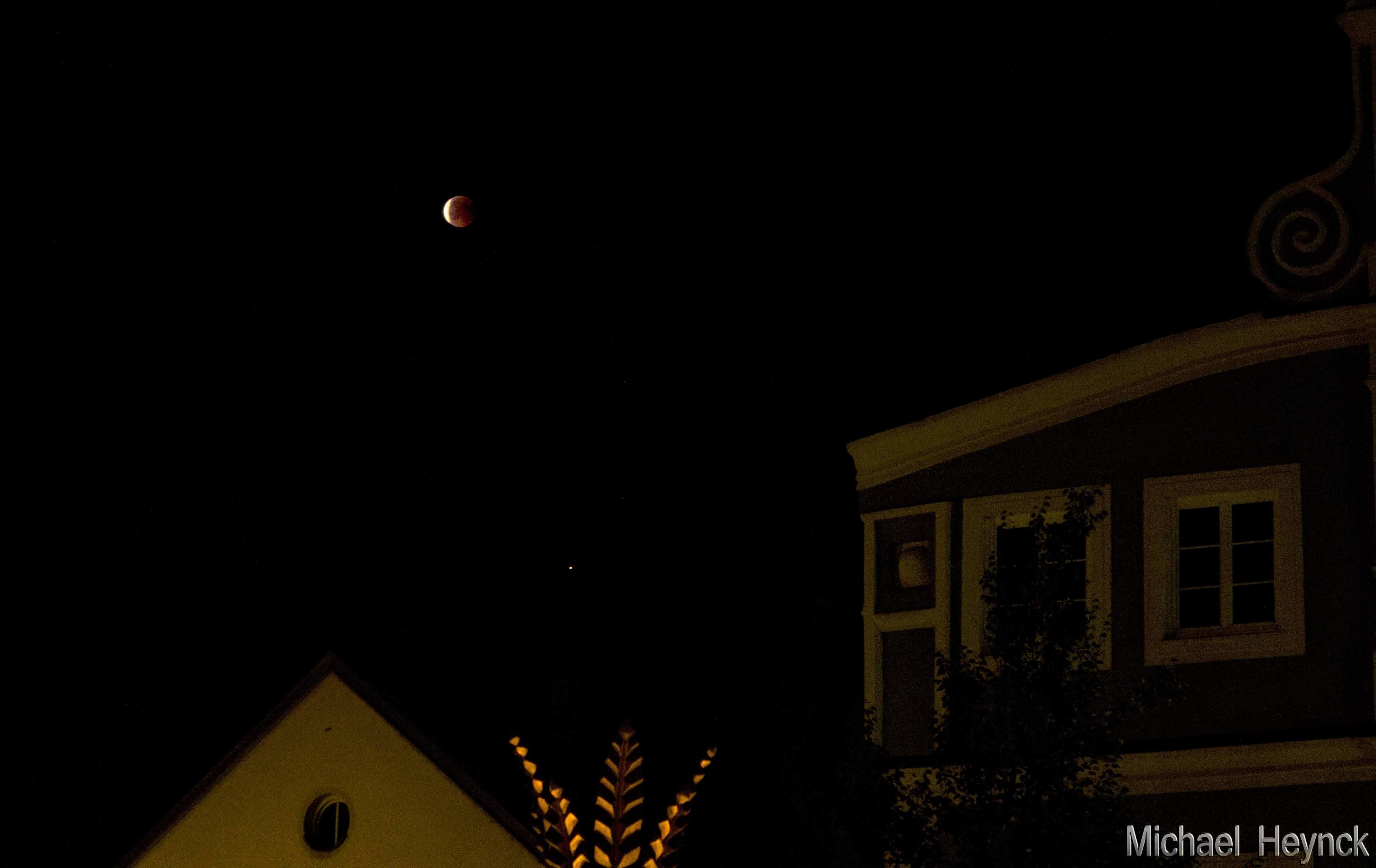 Mond und Mars (mh)